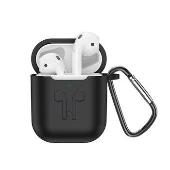 Hoco Hoco ES32 Plus White AirPods + Wireless Charging Case + Black Sleeve