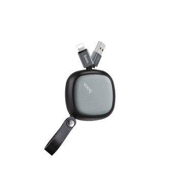 Hoco Hoco Retractable Lightning Charge&Synch Cable (90cm)