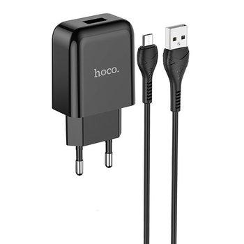 Hoco Hoco Vigour Travel Charger Set Micro USB - Black