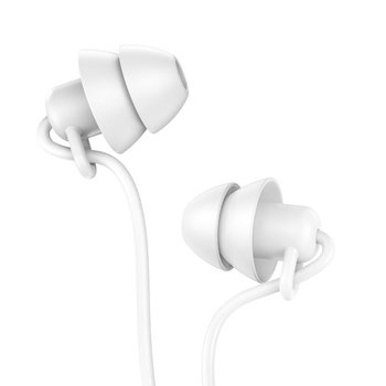 Hoco Hoco Mini In-Ear Silicone Sleep Oordopjes 3 5mm - Wit
