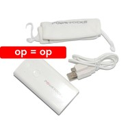 Powerocks - Powerbank Stone 2 - 5200 mAh - wit