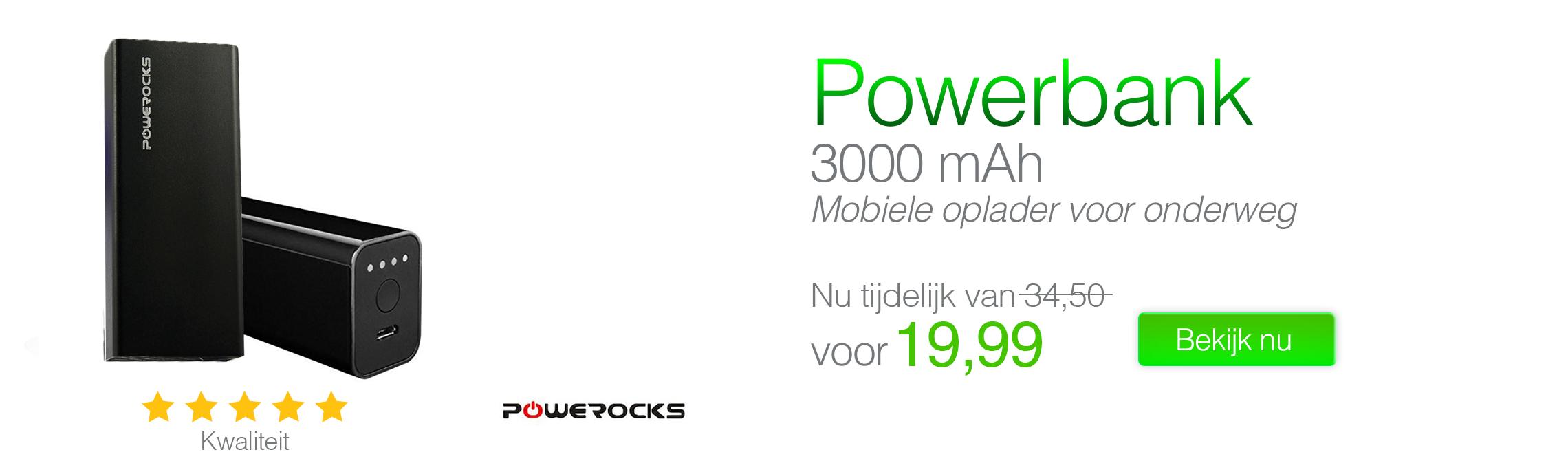 Muvit Power Bank Battery 2000 mAh