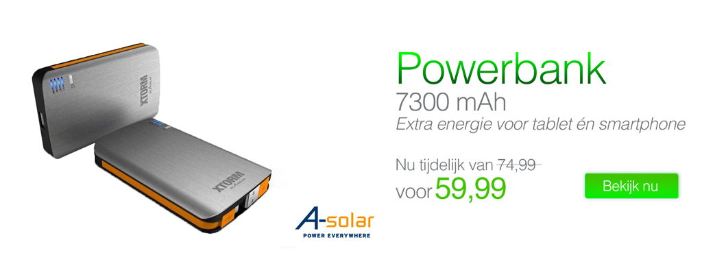 Xtorm AL370 Power Bank 7300