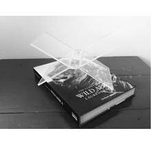 Boekenstandaard DecoBook Transparant
