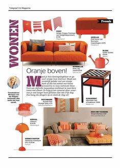 Wonen page in Telegraaf Vrij nr. 16