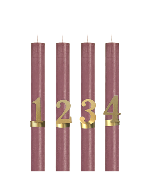 CANDLE ORNAMENTS ADVENT AVAILABLE FROM SEPT 20TH