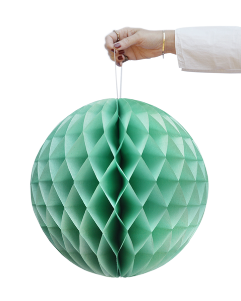 GREEN HONEYCOMB BALL SET