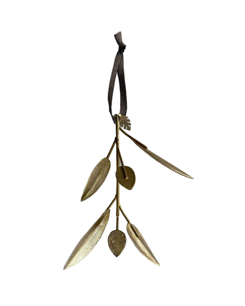 available early October 2020 5 METAL LEAF ORNAMENTS