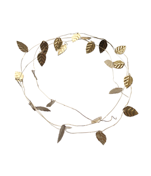 5 METAL LEAF WREATHS