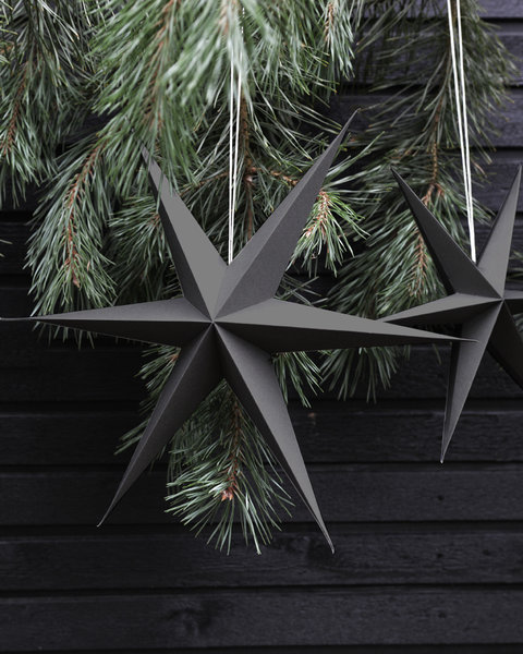 GRAY PAPER STARS out of stock