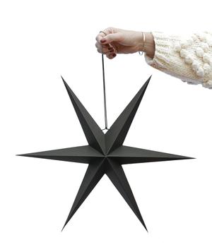 5x2 BLACK PAPER STARS
