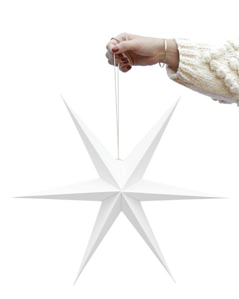 5x2 WHITE PAPER STARS