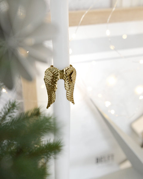 CANDLE ORNAMENT WINGS