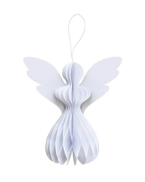 5 FROSTY WHITE PAPER ANGELS M