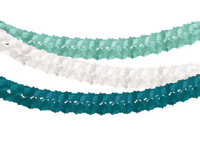 GREEN HONEYCOMB TISSUE GARLAND out of stock