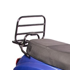 Rear carrier black for RSO Sense/Vx50/Riva/Vespa-look