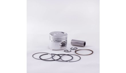 Piston and parts