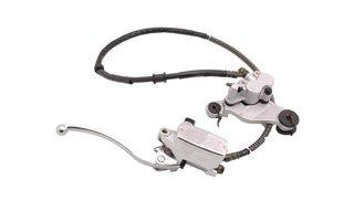 Complete hydraulic brake