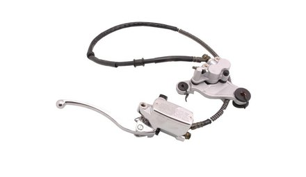 Complete hydraulic brake