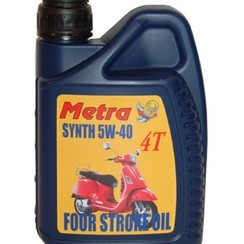 Engine oil  4T Metra 5W40 (synth) 1L