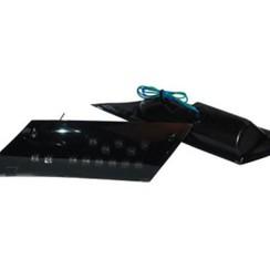 Knipperlicht set achter Piaggio Zip 2000/ Zip 4t Led smoke