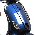 Side bumper set black RSO Sense/Vx50/Riva/Vespa-look