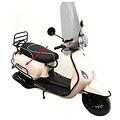 Rear bumper black RSO Sense/Napoli/Riva/VX50/Maple-2/vespa-look