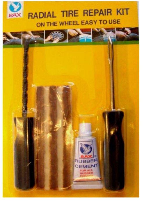 reparatie band tubeless set DMP