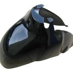 Front fender grande retro black