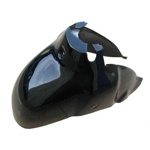 Voorspatbord Retro scooter Zwart