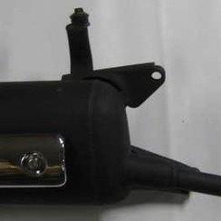 Exhaust Grande Retro/ZN-50-QT-E