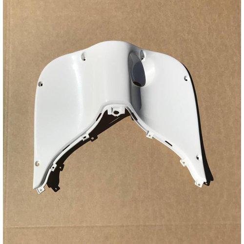 Leg shield upper  Grande retro/ torino White