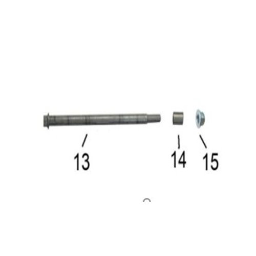 Front axle compl. RSO Arrow/SP50/Streetline/City