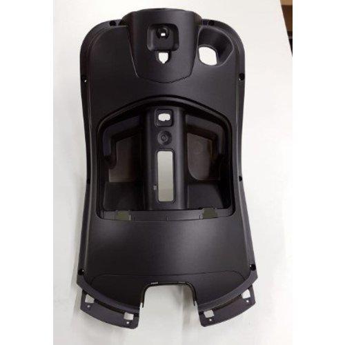 Leg shield mat black RSO Sense/Riva/VX50/Vespa-look
