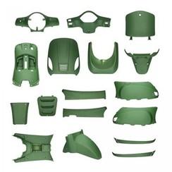 Full Crust mat Army Green RSO Sense/VX50/Riva/Vespelini/Vespa-look
