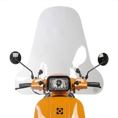 Windshield high  Vespa-look s / VX50S /RIVA 1 Sport / Vespelini S / Turbho type D