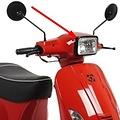 Koplamp Rand Glans Zwart Agm Vx S 50 / Napoli / China Vespa S Look / Btc Riva Sport S Vierkant
