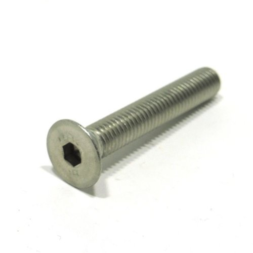 Verzonken kopschroef met binnenzeskant M6 x 45 mm RVS A2