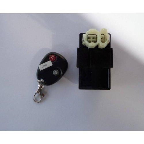 CDI GY6 50cc 25/onbegrenst 12inch met afstandbediening
