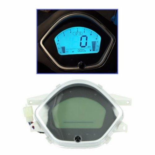 Km-teller digitaal RSO Sense./riva/ vx50agm/vespelini/Vespa-look