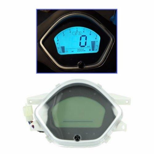 Speedometer clock digital RSO Sense./riva/ vx50agm/vespelini/Vespa-look