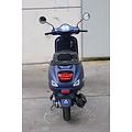 Full set of plastic for Dark Matte Blue RSO Sense/VX50/Riva/vespa-look