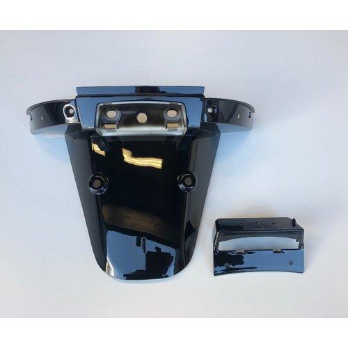 Achterspatbord Zwart RSO Sense/Riva/VX50/ Vespa-look