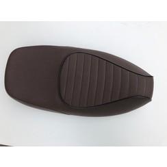 Buddyseat/ zadel bruin sportief RSO Sense/vx50/Riva/vespelini/Vespa-look