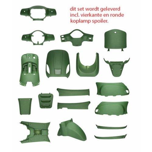 Kappenset Mat Groen RSO Sense/Vx50 (S)/Riva (S)/Vespa-look (s)