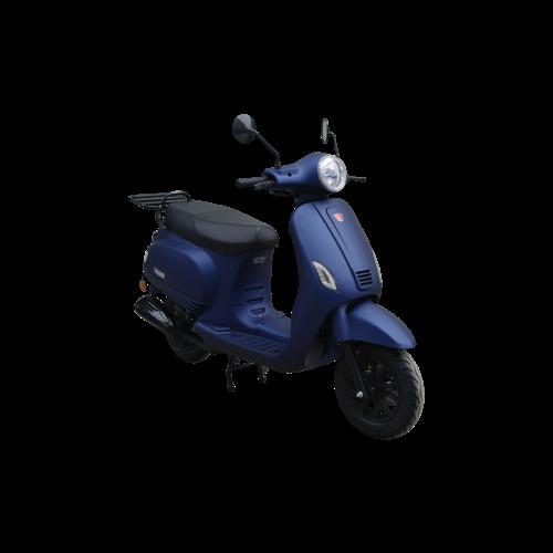 Kappenset  Donker Mat Blauw  RSO Sense/Vx50 (S)/Riva (S)/Vespa-look (s)