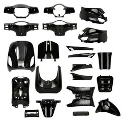 Kappenset Black RSO Sense/Vx50 (S)/Riva (S)/Vespa-look (s)