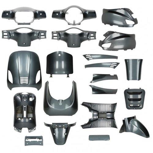 Kappenset Alpina Grey  RSO Sense/Vx50 (S)/Riva (S)/Vespa-look (s)