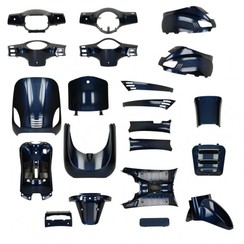 Kappenset Navy Blue  RSO Sense/Vx50 (S)/Riva (S)/Vespa-look (s)
