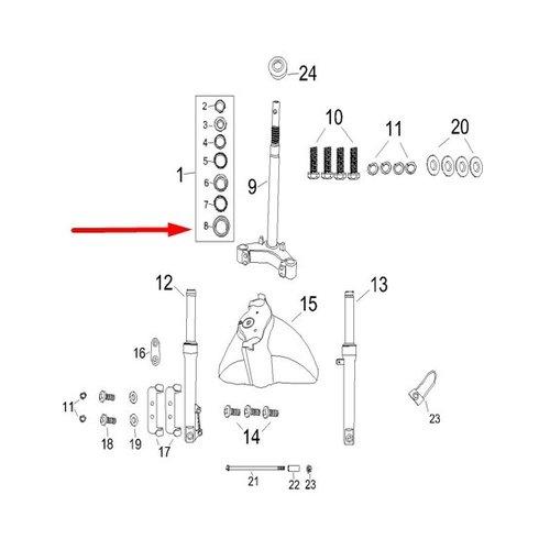 Conus RSO Sense/Riva (S)/VX50(S)/Vespa-look
